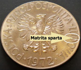 Moneda 10 ZLOTI - POLONIA, anul 1972   *cod 4786 - Tadeusz Kosciuszko = EROARE!