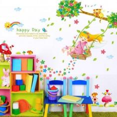 Sticker decorativ, Happy day 110 cm, 145STK