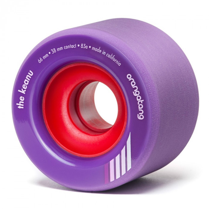 Roti longboard Orangatang The Keanu purple