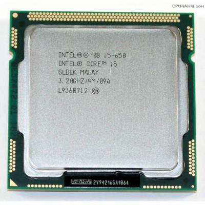 Procesor Intel Core i3-550 3.20GHz, 4MB Cache, Socket 1156 foto
