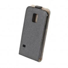 Husa dedicata telefon Samsung Galaxy S5 Mini, Negru