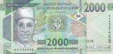 Bancnota Guineea 2.000 Franci 2018 - PNew UNC