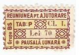 *Romania, lot 699 cu 1 timbru fiscal local, Timisoara, 1935, NG