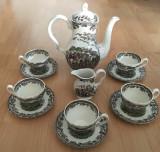 Set - ceai / cafea - portelan Englezesc - Myott - Country Life - 1982 - 5 pers
