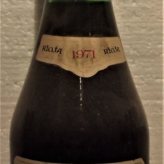A22- VIN VINA CRUZ, RIOJA, PURTUGAL, recoltare 1971 cl 75 gr 12,