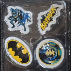Set 6 gume de sters Batman