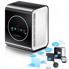 Cumpara ieftin Dispozitiv de sterilizare cu lampa UV-C, purificare aer 30 mc/h 10W, 3 filtre, suprafata 20 mp, afisaj LCD, timer