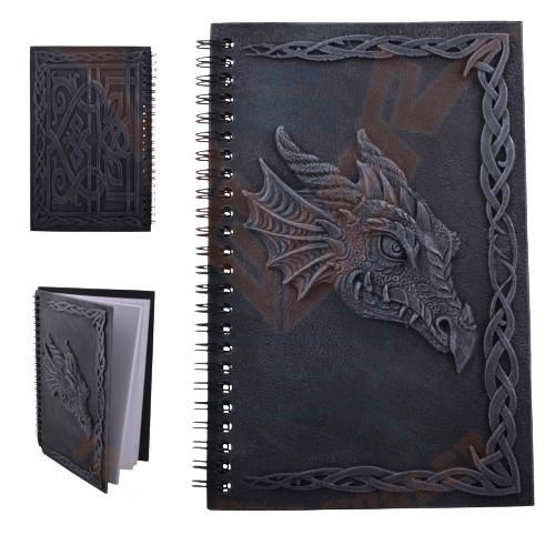 Agenda/Jurnal cu coperti din rasina Cap de dragon