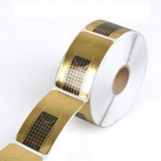 Rola sabloane dreptunghiulare pentru constructie unghii, 500 buc