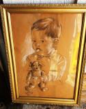 Ceglokoff Gheorghe (1904-1964), Portrete, Carbune, Altul