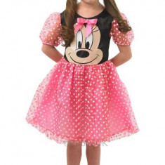 Costum de carnaval pentru fetite Rochita Minnie, roz, 3 ani+