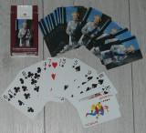 Carti de joc regina Elisabetha II,poker,set complet