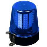 Girofar LED albastru Ibiza, alimentare 220V