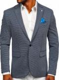 Sacou casual bleumarin bărbați Bolf SR002N