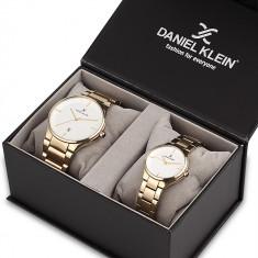 Set ceasuri pentru dama si barbati, Daniel Klein Pair, DK11784-3P