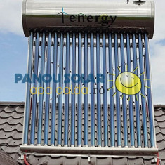 Kit Panou solar apa calda INOX nepresurizat 1ENERGY 200 litri - cu automatizare