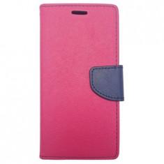 Husa SAMSUNG Galaxy S6 Edge - Fancy Book (Roz)