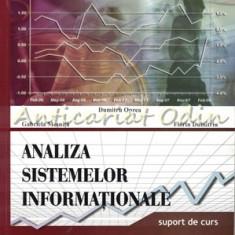 Analiza Sistemelor Informationale - Dumitru Oprea, Florin Dumitriu