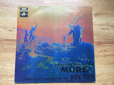 PINK FLOYD - MORE (1969,COLUMBIA/EMI,UK) vinil vinyl foto