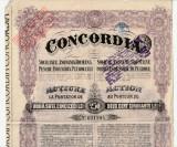 Actiuni Concordia 250 lei 1923_serie 621294