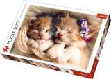 Puzzle Trefl 500 Pisicute Somnoroase