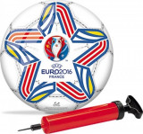 Set Poarta Fotbal 2 in 1 Mondo plastic cu minge Euro 2016
