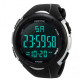 Ceas Barbatesc HONHX CS870, curea silicon, digital watch, functie cronometru, alarma