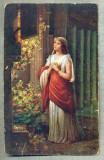 AD 267 C. P. VECHE -QUO VADIS ?- LYGIA 'S THANKS PRAYER -PATATA, Franta, Circulata, Printata
