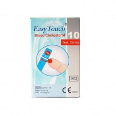Teste colesterol Easy Touch, 10 bucati