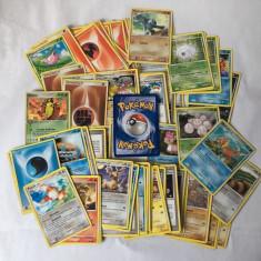 80 buc cartonase Pokemon, colectie, contine si dubluri