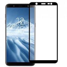 Folie din Sticla 3D Black pentru Samsung Galaxy J4 Plus