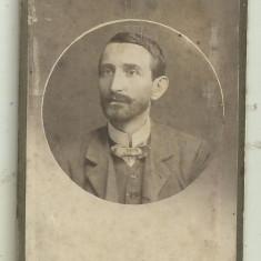 Fotografie pe carton Atelier High Life G.Weber Bucuresti - cca 1900