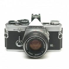 Olympus OM-2n cu obiectiv Zuiko 50mm 1.8- Stare foarte frumoasa!