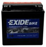 Exide baterie maxiscuter motocicleta YTX14L-BS 150x87x145 12V 12Ah 200A Buell Harley Davidson
