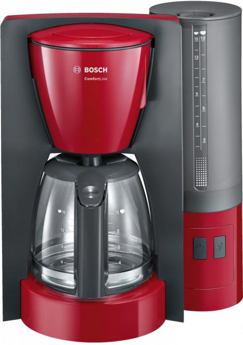Filtru de cafea ComfortLine Bosch, 1200W, Roşu TKA6A044