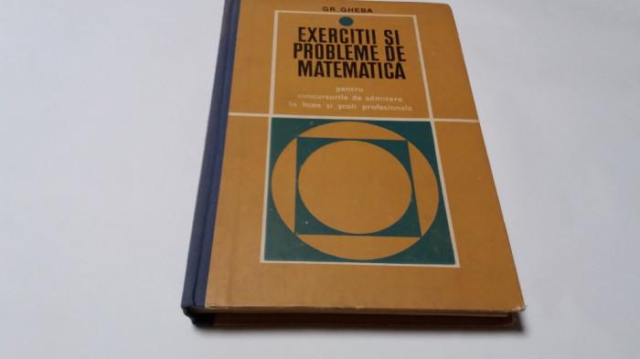 EXERCITII SI PROBLEME DE MATEMATICA PENTRU ADMITERE IN LICEE    GHEBA--RM4