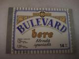 Eticheta bere Romania - BULEVARD - Sadu !