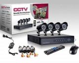 Cumpara ieftin Kit de supraveghere HD, format din 4 camere de interior/exterior, HDMI