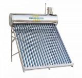 Kit solar nepresurizat compact | boiler inox 150 litri | 15 tuburi vidate | Vas...