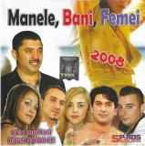 CD Manele,Bani,Femei, original:Nicolae Guta, Mr. Juve, Florin Peste