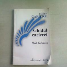 GHIDUL CARIEREI - MARK PARKINSON