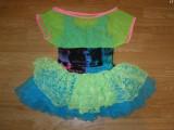 Costum carnaval serbare rochie dans pentru copii de 7-8 ani, Din imagine