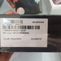 Samsung Galaxy S10 Plus 128GB, Alb, Neblocat, Smartphone