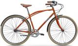 Bicicleta Pegas Magistral, Cadru 18.5inch, Roti 28inch, 3 Viteze (Portocaliu)