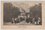 Busteni ,  Biserica  imagine , carte postala - Colectia E.Marvan , Bucuresti