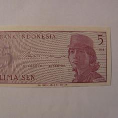CY - 5 sen 1964 Indonesia Indonezia / UNC