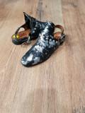 Balerini-sandale dama piele naturala fina superbi foarte comozi 39 !, Multicolor