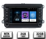 Navigatie Volkswagen, Skoda, Seat, QUADCORE MTK 2GB RAM + 32GB ROM, 7 Inch - AD-BGPVW7MTK2GB
