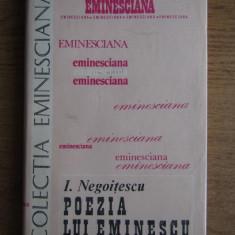 I. Negoițescu - Poezia lui Eminescu
