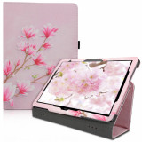 Husa pentru Huawei MediaPad T5, Piele ecologica, Roz, 46111.11